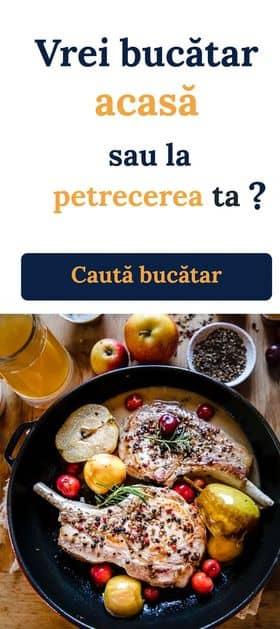 chefs of Romania Bucatar privat acasa sau la pretecerea ta