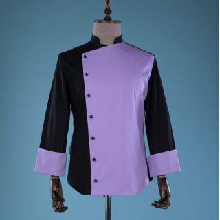 tunica de Bucatar negru roz mod violet